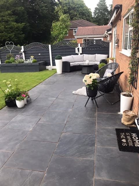 slate paving Macclesfield